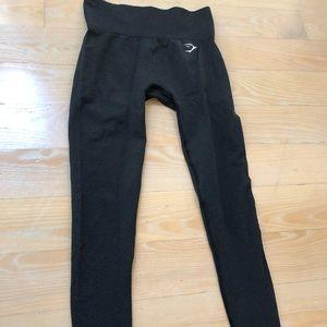 Gymshark black high waisted leggings size small